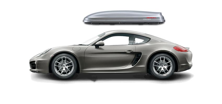 Porsche Cayman Roof Box