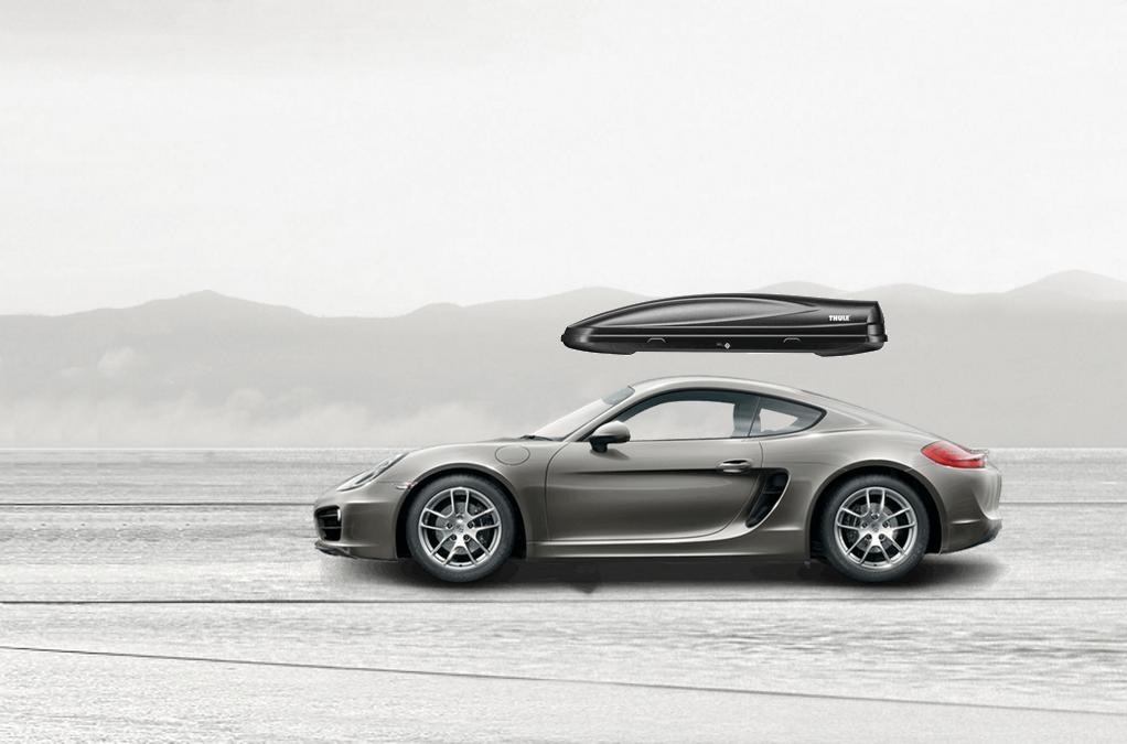 Porsche Cayman Roof Cargo Box