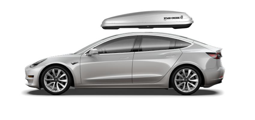 Tesla Model 3 Roof Cargo Box