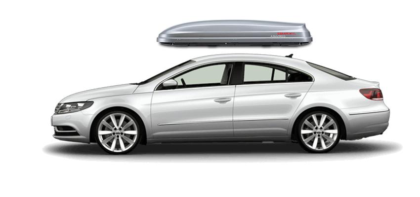 Volkswagen Cc Roof Box