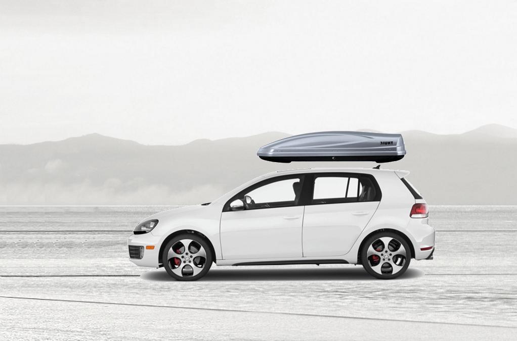 Volkswagen Golf Rooftop Cargo Box