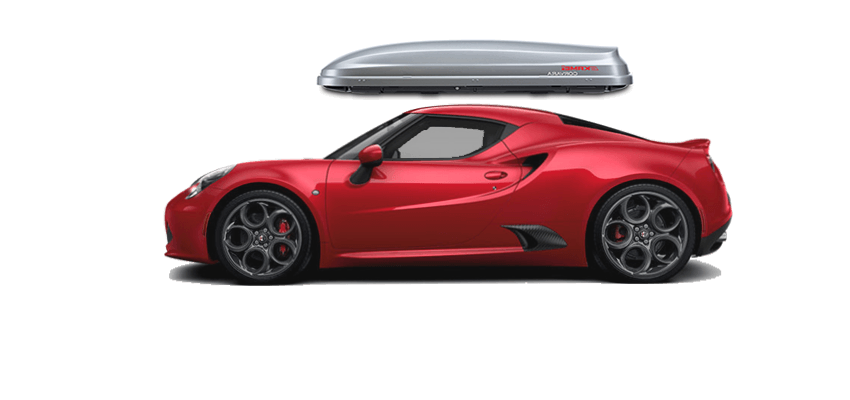 Alfa Romeo 4c Roof Box