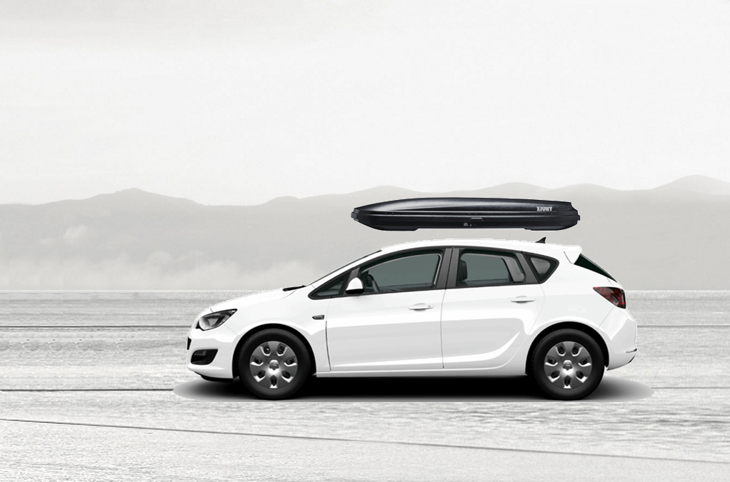 opel astra rooftop cargo box. Black Bedroom Furniture Sets. Home Design Ideas