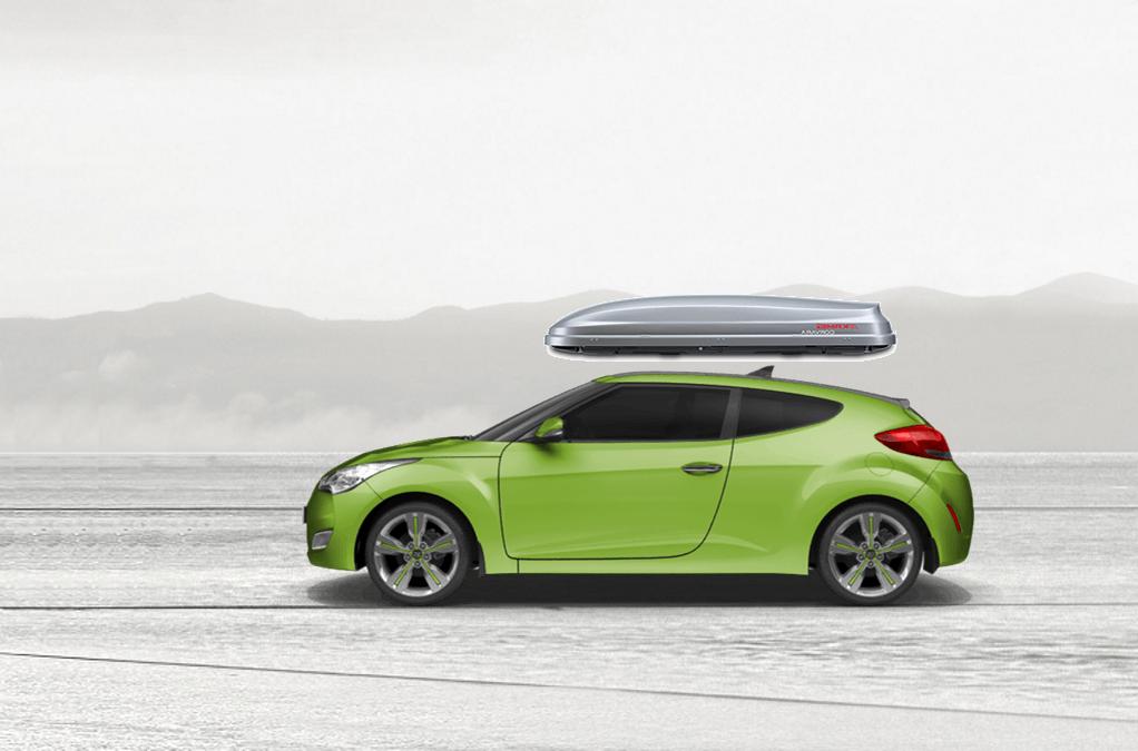 Hyundai Veloster Roof Box