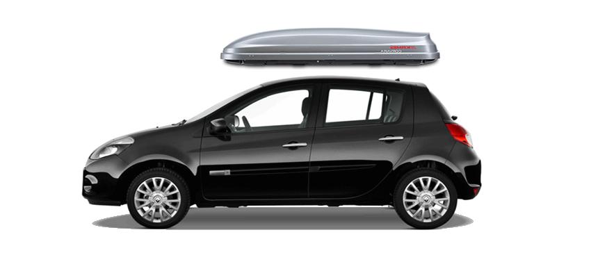Renault Clio Roof Box