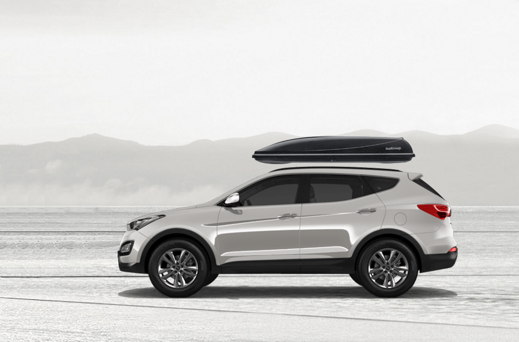 Beautiful SportRack Horizon M On Hyundai Santa Fe