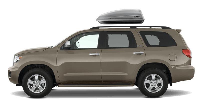 Toyota Sequoia Rooftop Cargo Box
