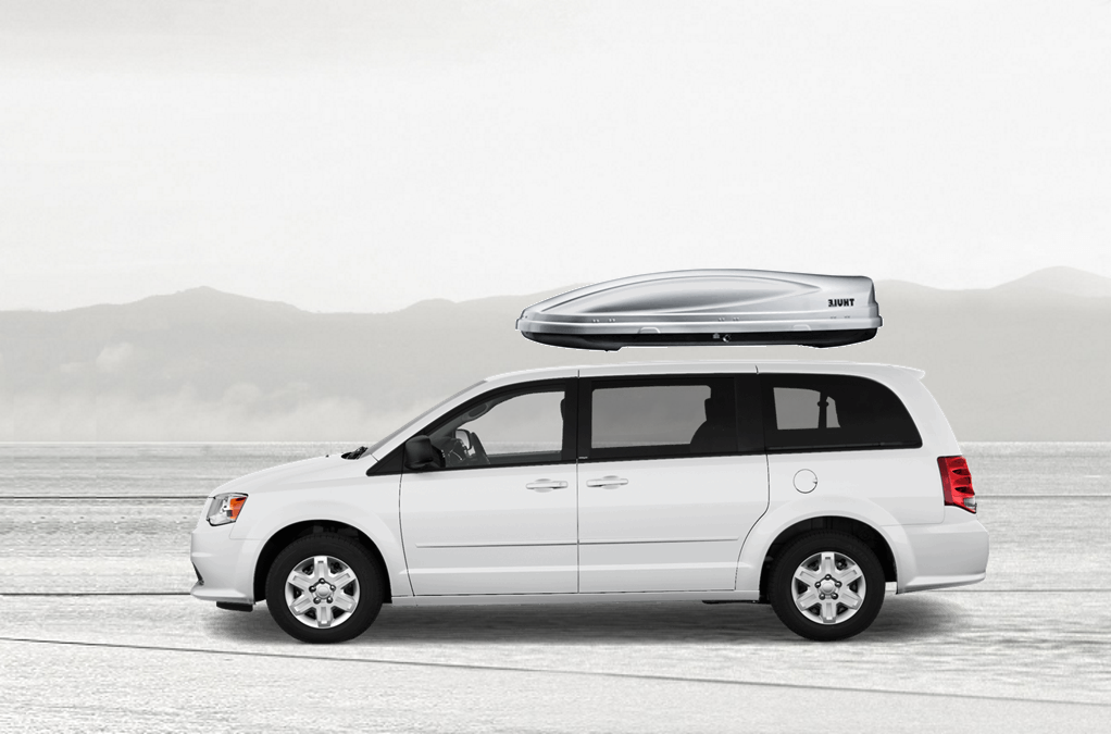 Dodge Grand Caravan Rooftop Cargo Box