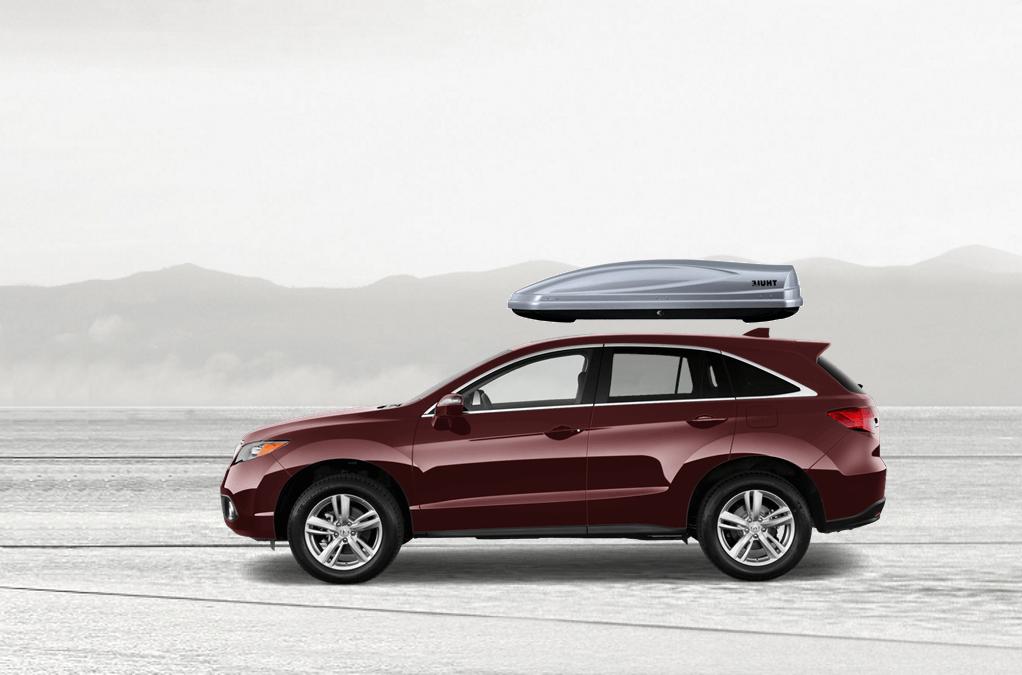 Acura RDX Rooftop Cargo Box on