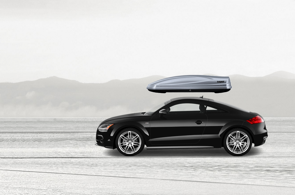 ... Roof Racks Thule Atlantis 1200 685XT On Audi TT