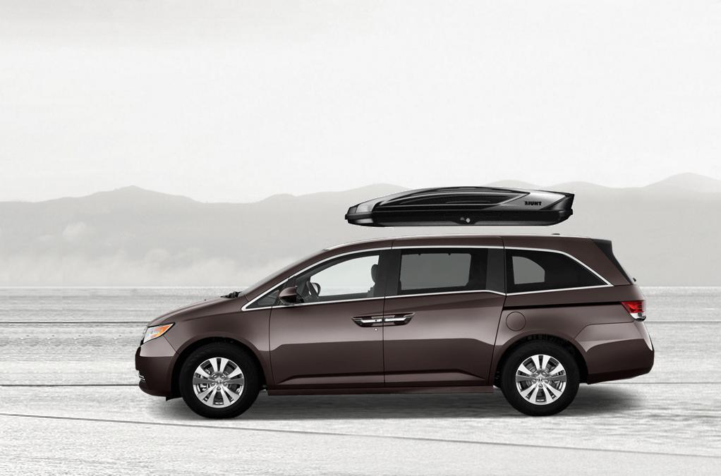 Honda Odyssey Roof Cargo Box