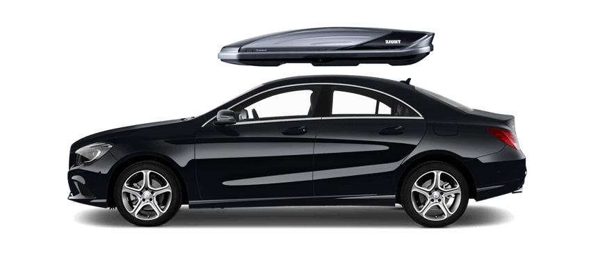 Mercedes cla for Mercedes benz roof box 450 dimensions