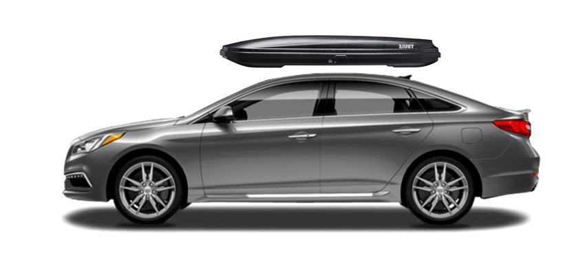 Hyundai Sonata Rooftop Cargo Box