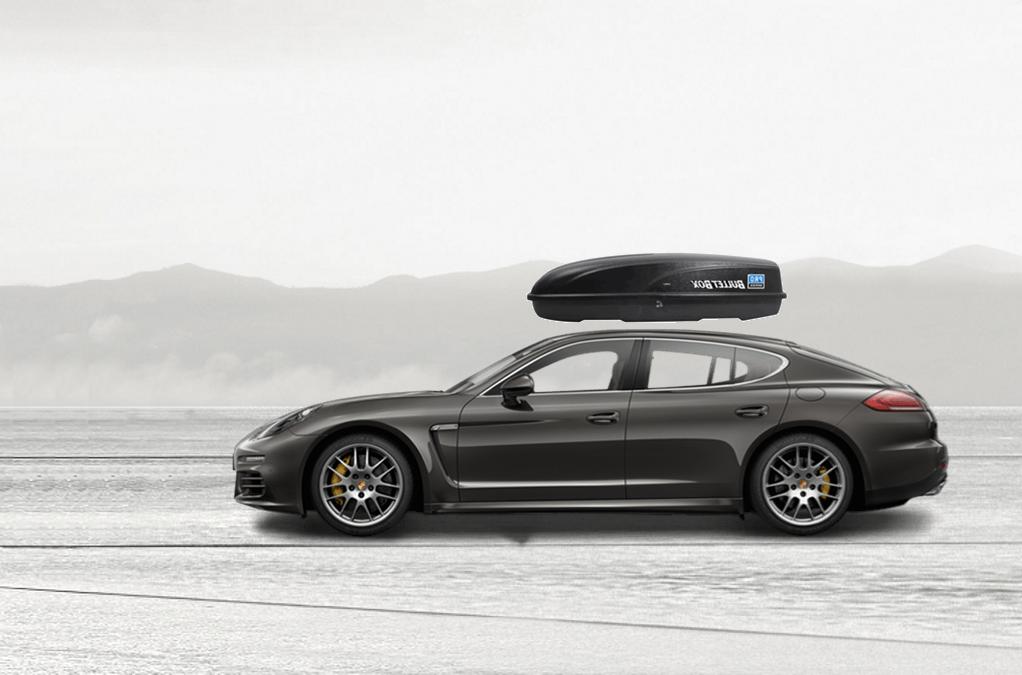 Porsche Panamera Rooftop Cargo Box