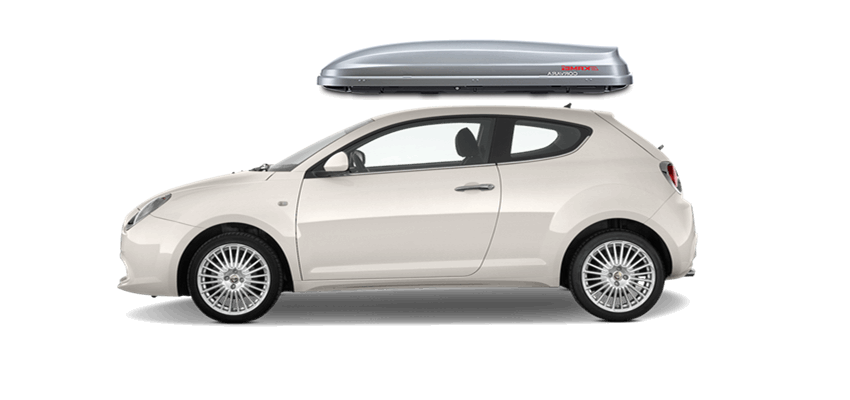 Alfa Romeo Mito Roof Box