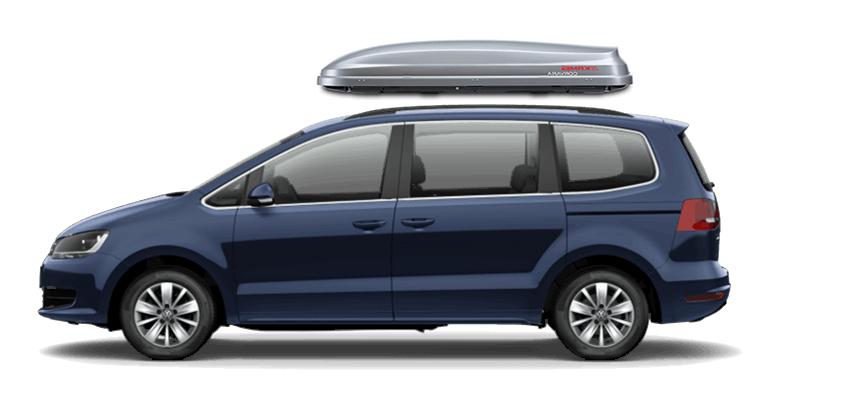 Volkswagen Sharan Roof Box